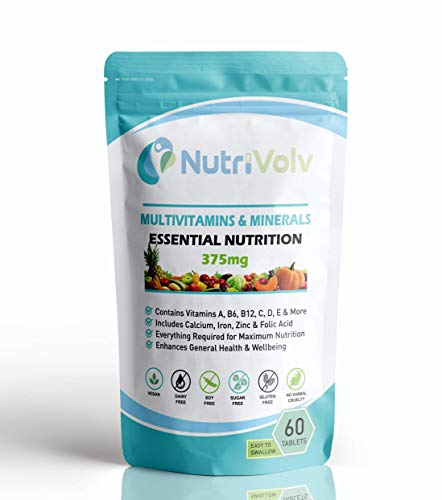 Multivitamins & Minerals | 60 Tablets | One A Day | Essential Nutrition
