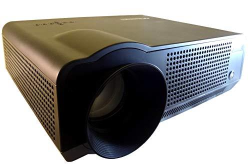 SceneLights Beamer mit Mediaplayer: LED-LCD-Beamer LB-9300 V2 mit Media-Player, 1280 x 800 (HD), 2.800 lm (Projektoren)
