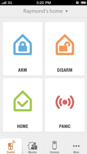 iSmartAlarm Deluxe Home Security Package | Wireless DIY No Fee IFTTT