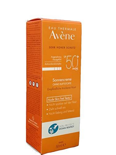 Avène Sonnencreme ohne Duftstoffe LSF 50+, 50 ml Creme