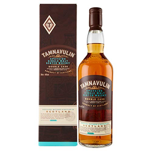 Tamnavulin Speyside Single Malt, Double Cask Scotch Whisky, 70 cl