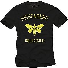 MAKAYA Heisenberg Industries - Camiseta Hombre Negra