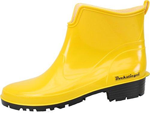 Bockstiegel Damen Gummistiefel Saskia, Farbe:gelb;Größe:40