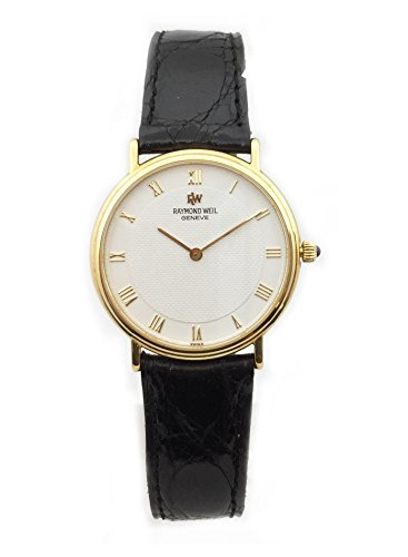 Raymond Weil Reloj de oro 750 Ref 3010130