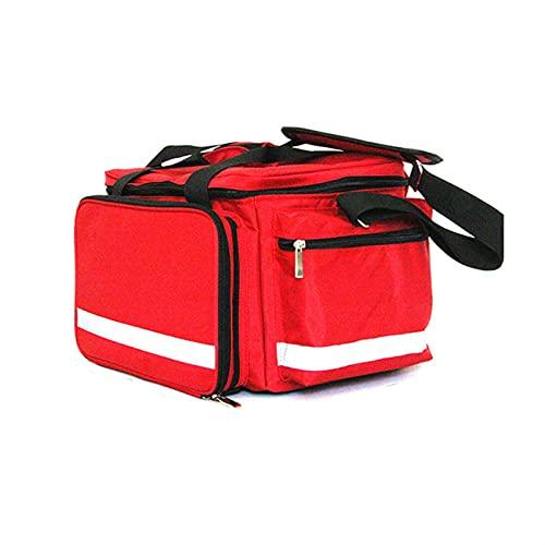 IOPQQ Bolso de Primeros Auxilios Kits de Emergencia al Aire Libre de múltiples Bolsos de Gran Capacidad Viajes portátiles Médicos médicos de Emergencia (Color : Red S)