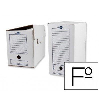 Caja de archivo definitivo liderpapel 367x251x200 mm PACK DE 50 UNIDADES