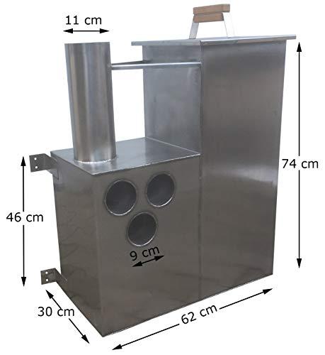 Sell-tex Jacuzzi Whirlpool Oven Houtkachel Onderwateroven Badton Badpot Badbottich Bekken