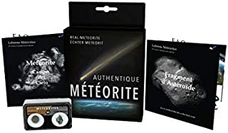 Real meteorites Duo Box : 'Campo del Cielo' and Chondrite (with certificates)