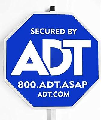 "ADT Security Yard Sign 30"" Aluminum Pole"