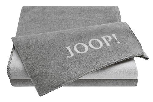 Joop! Plaid Uni-Doubleface | Graphit-Rauch - 150 x 200 cm