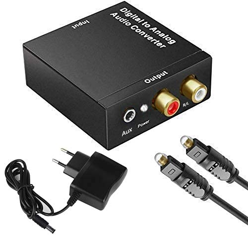 Dac Convertidor Digital a Analógico HiFi Zen Mqa Dac USB Adaptador Fx Audio óptico Toslink Coaxial RCA L/r Digital Rme Soporte Pcm/lpcm para HDTV Ps3 Ps4 Xbox HDTV DVD BLU-Ray Amplificador AV