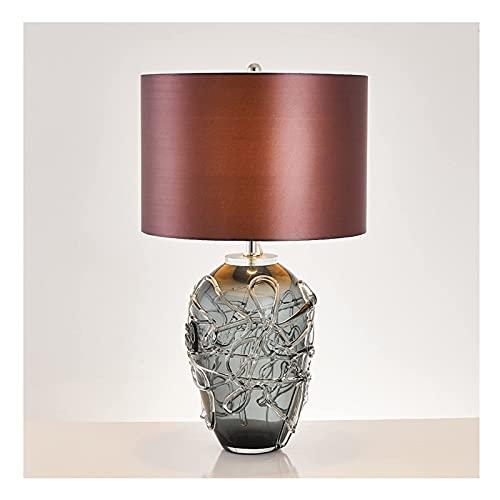 Soggiorno camera da letto lampada da cucina camera da letto lampada da camera da letto lampada post-moderno soggiorno lusso hotel lampada da scrivania in vetro decorazione creativa lampada da comodino