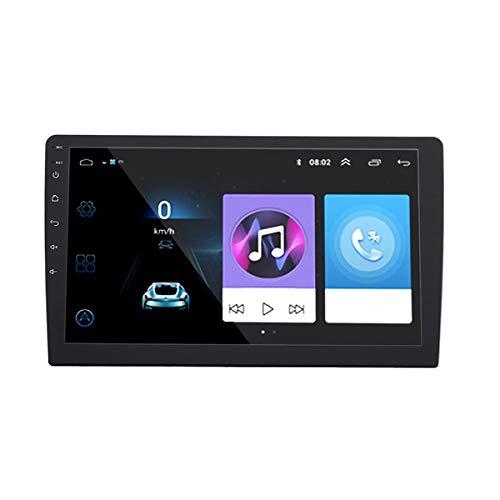 Bestlymood 10 Pulgadas para Android Reproductor Multimedia para Coche 2Din Radio de Coche Audio GPS WiFi Enlace Espejo MP5 Reproductor con CáMara de VisióN Trasera