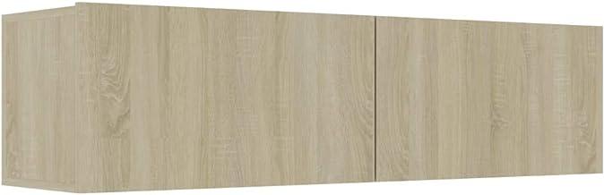 vidaXL TV Cabinet Home Living Room Bedroom Furniture Entertainment Center Unit Plasma Stereo Stand Lowboard Sonoma Oak 120...