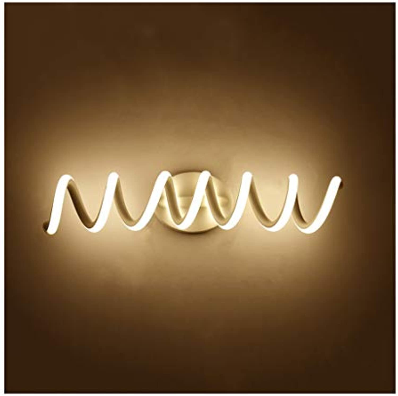 Bad Spiegelleuchten Spiegel Frontleuchte LED Bad Anti-fog Spiegel Kabinett Licht Moderne Nordic Make-Up Lampe Wandleuchte [Energieklasse A +] (Farbe   Warmes licht-33cm)