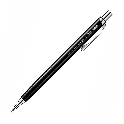 ぺんてる シャープペン オレンズ XPP503-A 0.3mmブラック