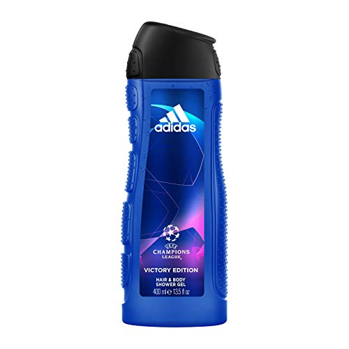 Adidas UEFA Champions League Victory Edition Shower Gel para Hombre - 400 ml
