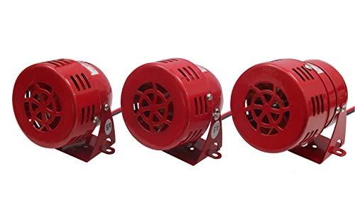 Motorsirene in 3 Spannungen zum auswählen 12V, 24V, und 230V (230V AC)