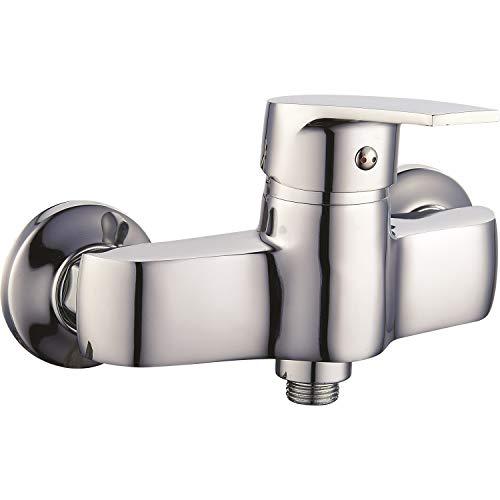Duscharmatur Wand-Montage Serie Sette Einhebelmischer Aufputz Dusche Badarmaturen Wasserhahn