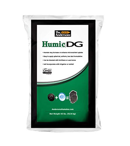 The Andersons Humic DG Organic Soil Amendment - Covers up to 40,000 sq ft (40 lb)