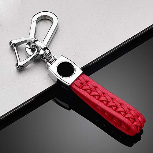 SDLWDQX Funda de TPU para llave de coche, compatible con Kia Ceed Rio Rio5 Sportage R K3 KX3 K4 K5 Ceed Sorento Cerato Optima, carcasa protectora para llave de coche, llavero rojo 2