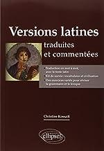 Versions Latines Traduites et Commentées de Christine Kossaifi
