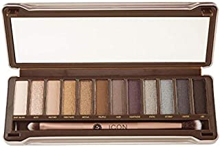 Absolute New York Icon Eye Shadow Palette Smoked, 13 gm