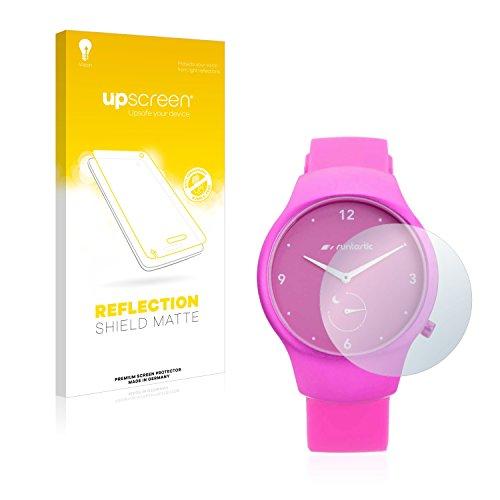 upscreen Entspiegelungs-Schutzfolie kompatibel mit Runtastic Moment Fun – Anti-Reflex Bildschirmschutz-Folie Matt