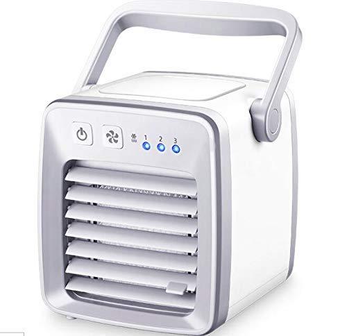 YO-TOKU USB Fans, Mini Usb Personal Air Conditioner Klein Cooling Fan Portable Handle Desktop Rustig Cooler for de zomer USB Gadgets