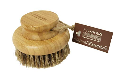Hydrea London Bamboo Round Body Brush With Mane & Cactus Bristle WBB10H-HD