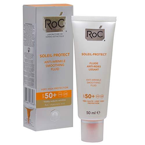 ROC Soleil Protect - Fluido Reductor de Arrugas, SPF50+, 50
