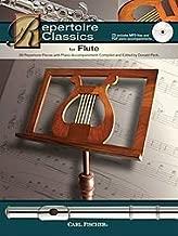 Repertoire Classics For Flute: 36 Repertoire Pieces With Piano Accompaniment