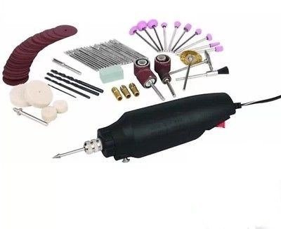 Drill Master Rotary Tool Kit + 80 Piece Accessories Fits Dremel Texas Tool Store