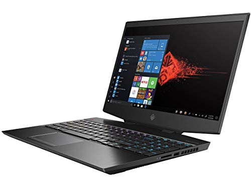 HP Omen 15.6-in Gaming Laptop Computer i7 16GB 512GB RTX 2060 - Black - 15-dh1050nr