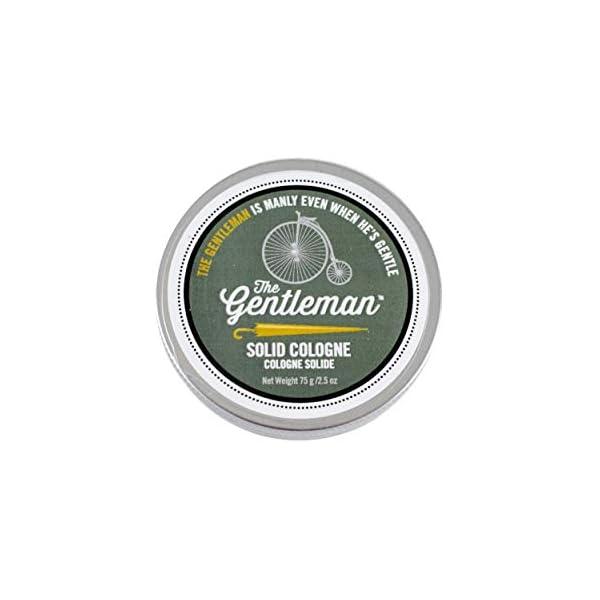 Walton Wood Farm Solid Cologne (The Gentleman) Citrus & Mahogany Scent Vegetarian-Friendly and Paraben-Free 2.5 oz 1