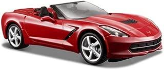 2014 Chevrolet Corvette C7 Convertible Metallic Red 1/24 by Maisto 31501 by Maisto