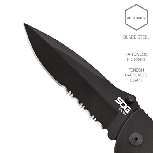 SOG Tactical Folding Knife (FF25-CP)
