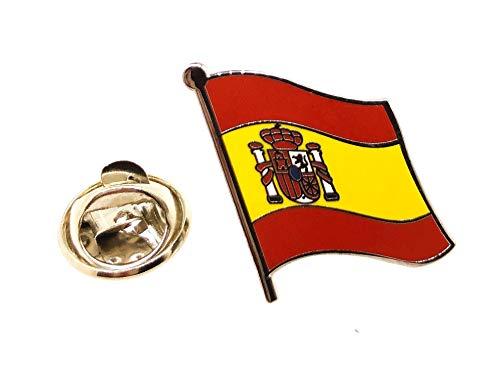 Gemelolandia   Pin de Solapa Bandera España Mastil   Pines Originales Para...