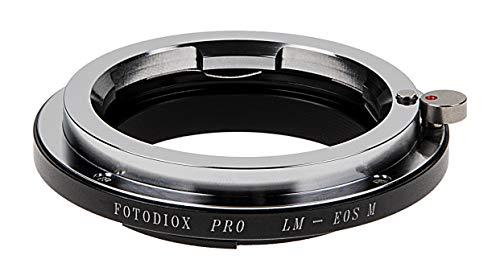 Fotodiox Pro Adattatore per lenti della fotocamera - Leica M telemetro per il montaggio di Canon EF-M fotocamera Adattatore, per fotocamera Mirrorless EOS M Digital