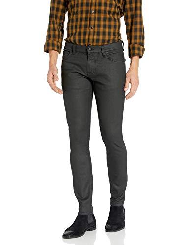 Nudie Jeans Unisex-Erwachsene Tight Terry Painted Black Jeans, Schwarz lackiert, 30W x 32L