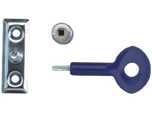 Yale Locks P6P111SC Lot de 6 verrous de fenêtre chrome satiné