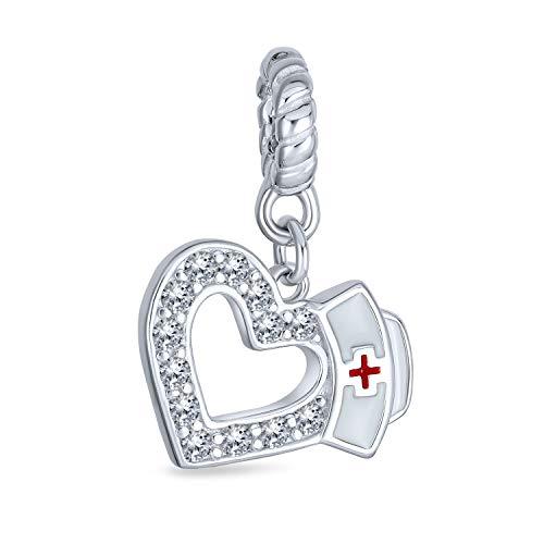 Caduceus Rn enfermera sombrero corazón...