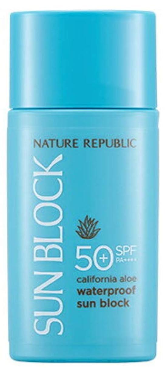 不変通り声を出して正規輸入品 NATURE REPUBLIC(ネイチャーリパブリック) CA AL ウォータープルーフ サンブロック SPF50+ PA++++ 60ml