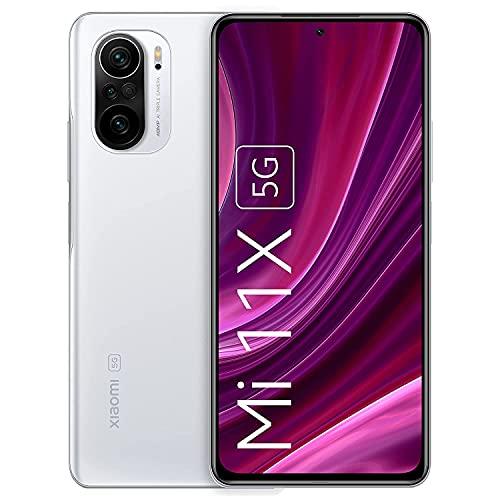 (Renewed) Mi 11X 5G (Lunar White, 6GB RAM, 128GB ROM)   SD 870   DisplayMate A+ rated E4 AMOLED
