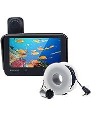 Signstek fish finder 釣り時水中監視器 モニター監視 録画 撮影(4.3インチ 液晶モニター/30M ケーブル/140° 広角レンズ) 32GTFカード使用可能 6つ赤外線LED付き 暗視可能