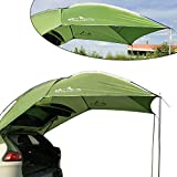 Car Tent Awning Sun Shelter Waterproof Auto Rooftop Camping Sunshade Tent Outdoor Travel RV Canopy Tents for Vehicle, SUV, Truck, Hatchback