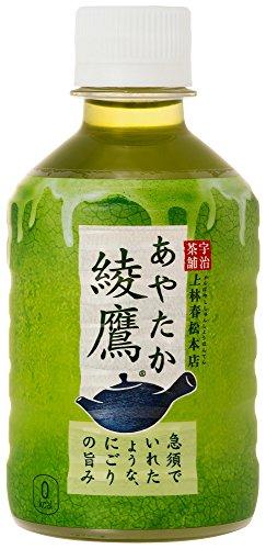 スマートマットライト コカ・コーラ 綾鷹 お茶 ペットボトル 280ml×24本