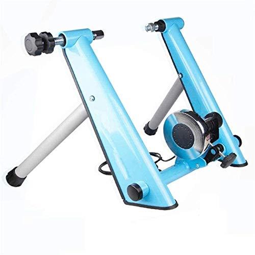 Lanrui Bici MTB Indoor Bike Trainer Soporte Liso de Montar Puede soportar hasta 135kg for Toda Estación Formación fácil de almacenar Bike