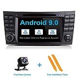 ZLTOOPAI Android 9.0 Autoradio für Mercedes Benz E-Klasse W211 CLS W219 Autoradio GPS Navigation Auto GPS Media Player mit 7 Zoll Touchscreen