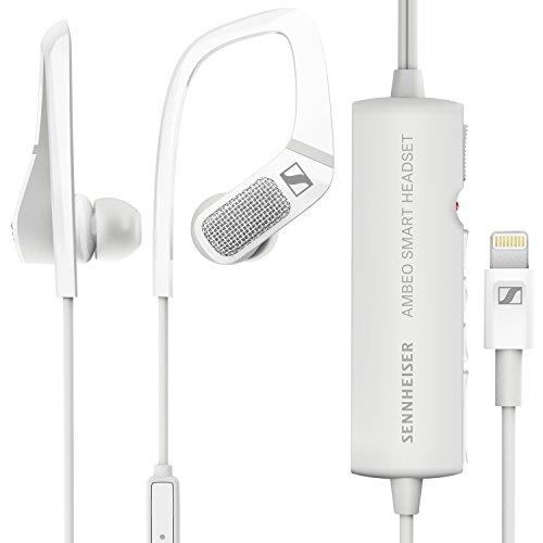 Sennheiser ambeo Smart Headset (IOS) – 3D-Video Sound Kopfhörer mit Active Noise Cancellation